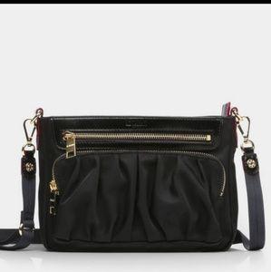 MZ WALLACE Black Abbey Crossbody Bag